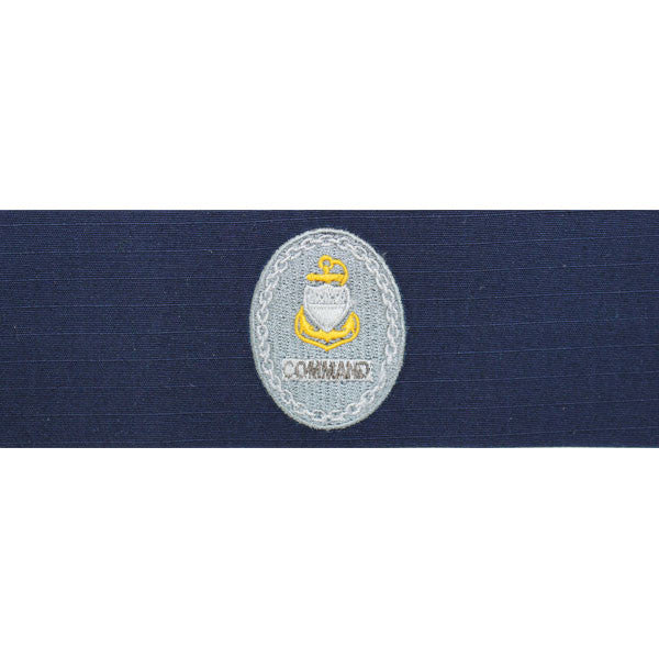 Coast Guard Badge: Enlisted Advisor E7 Command: Ripstop fabric