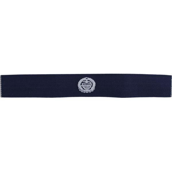 Coast Guard Embroidered Badge: Officer in Charge Afloat - Ripstop fabric
