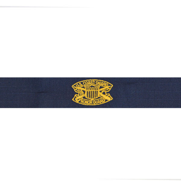 Coast Guard Embroidered Badge: Honor Guard - Ripstop fabric