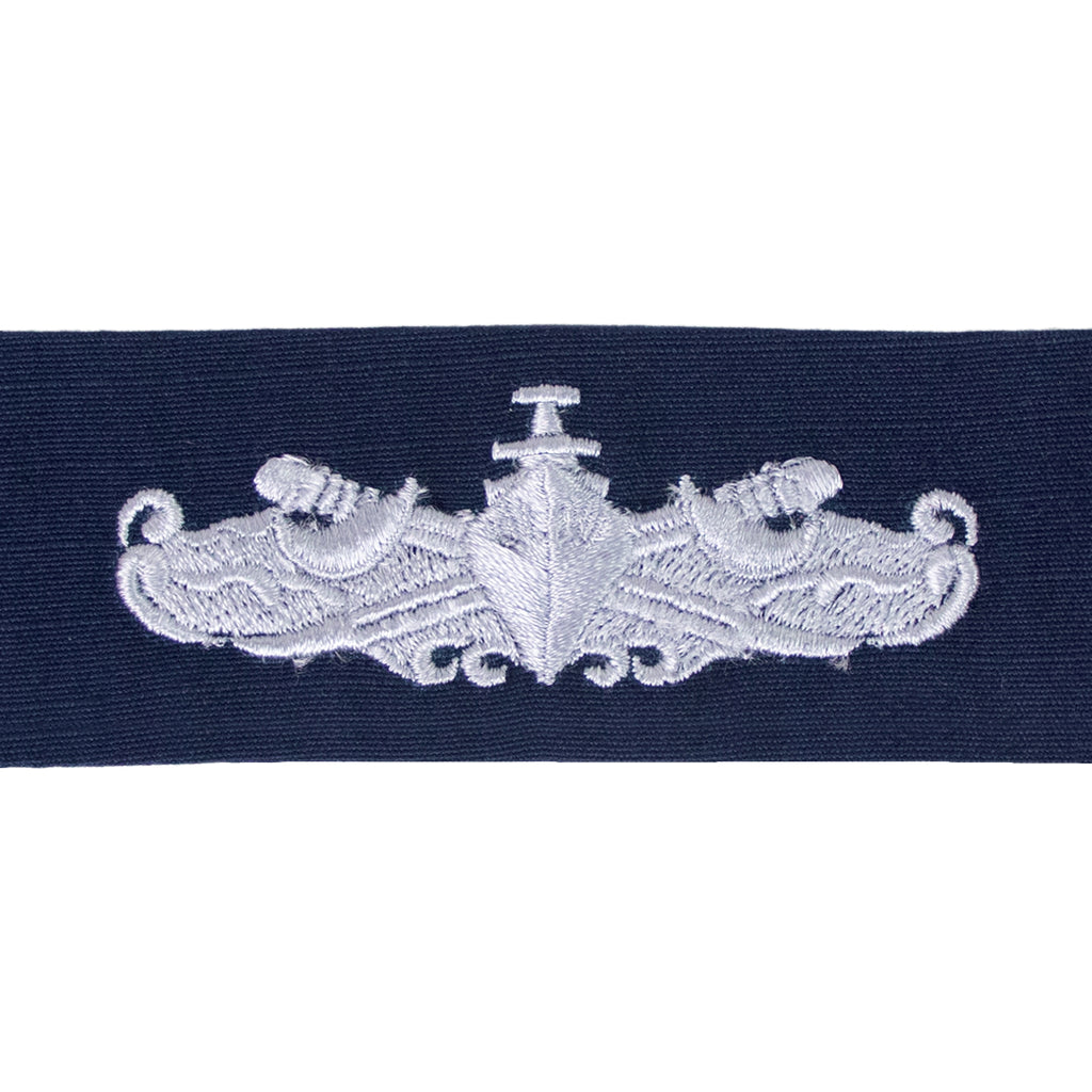 Coast Guard Embroidered Badge: Surface Warfare Enlisted - Ripstop fabric