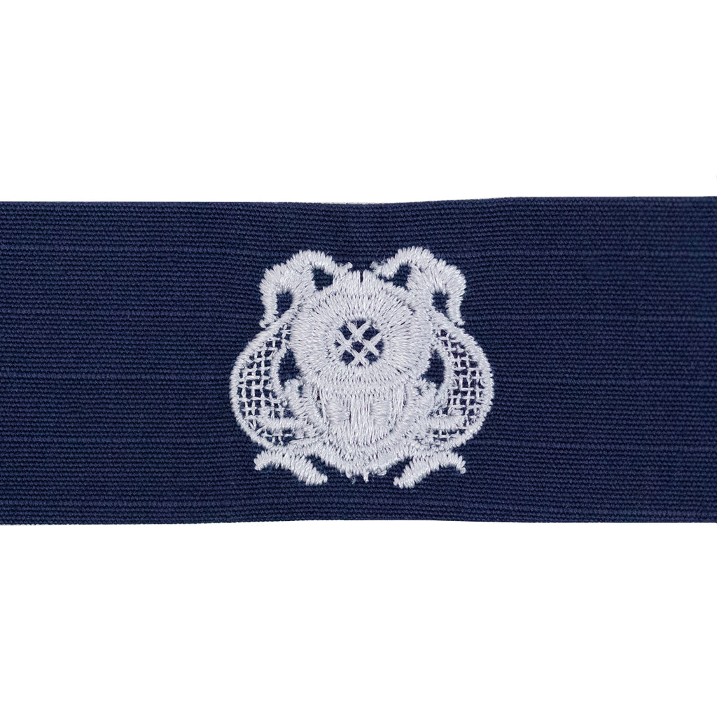 Coast Guard Embroidered Badge: First Class Diver - Ripstop fabric