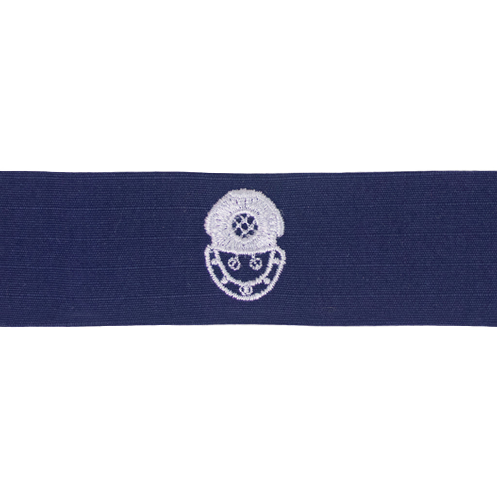 Coast Guard Embroidered Badge: Second Class Diver - Ripstop fabric