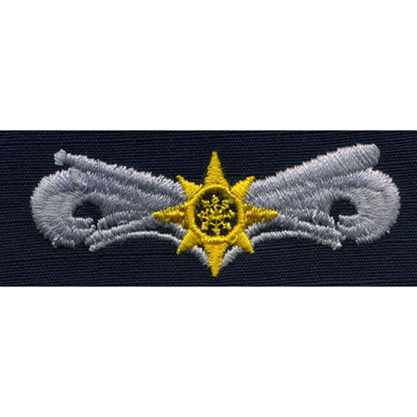 Coast Guard Embroidered Badge: Boat Force Operator: Advanced - Ripstop