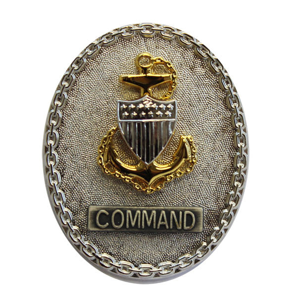 Coast Guard Badge: Enlisted Advisor E7 Command - regulation size