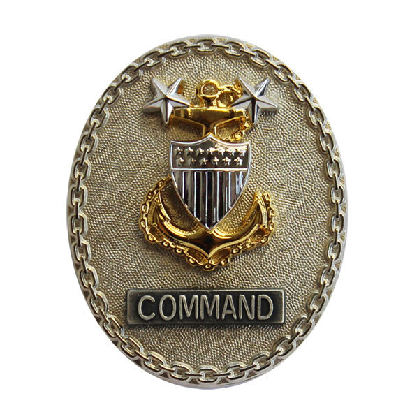 Coast Guard Badge: Enlisted Advisor E9 Command - regulation size