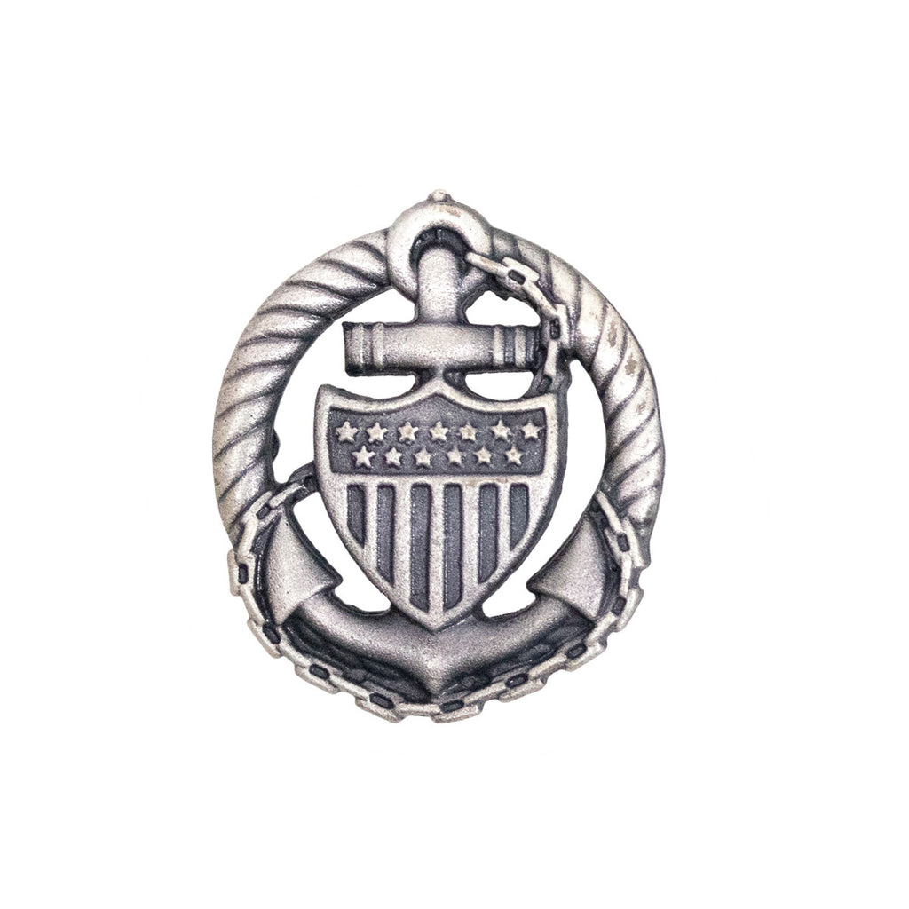 Coast Guard Badge: Officer in Charge Afloat - miniature