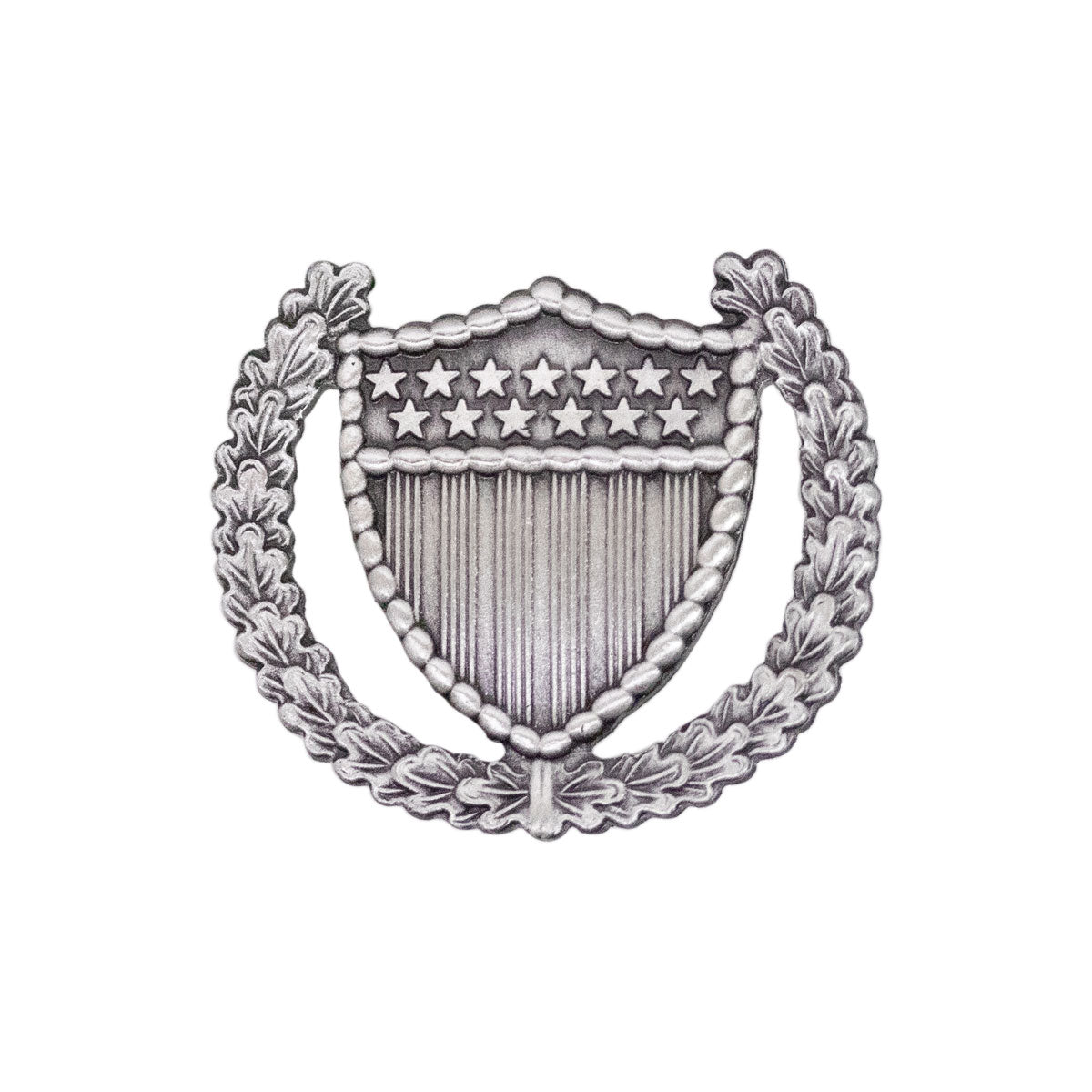 173rd airborne brigade shiny Silver plate dress belt buckle