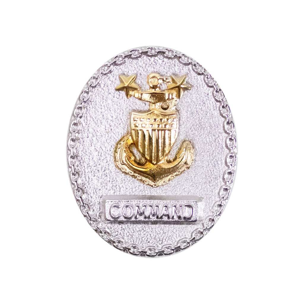 Coast Guard Badge: Senior Enlisted Advisor E9 Command - miniature