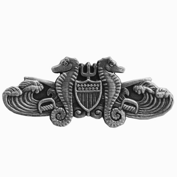 Coast Guard Badge: Enlisted Port Security - miniature