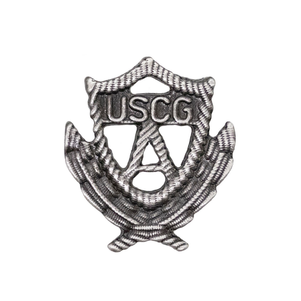 Coast Guard Auxiliary Badge: Past Officer - regulation size
