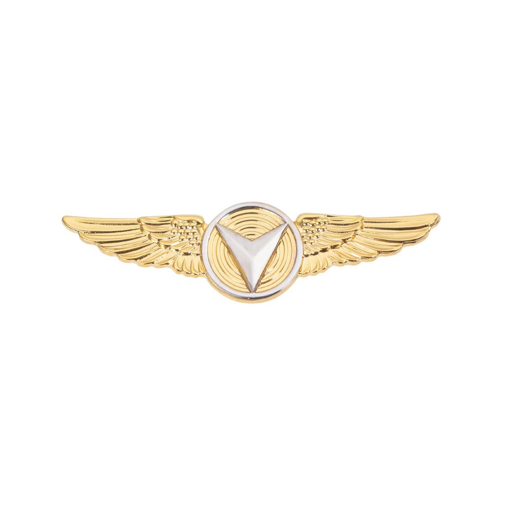 Marine Corps Badge: Unmanned Aircraft Systems (UAS) Enlisted Miniature Size - 24K Gold Plated