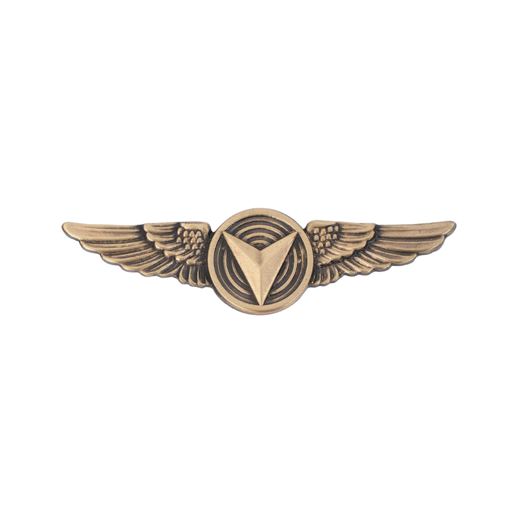 Marine Corps Badge: Unmanned Aircraft Systems (UAS) Enlisted Regulation Size - Bronze plated