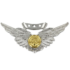 Navy Badge: Combat Air Crew - regulation size, mirror finish