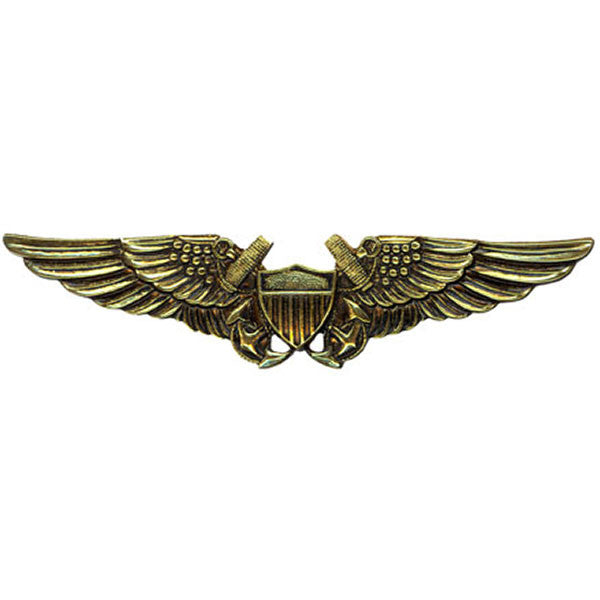 Navy Badge: Naval Flight Officer - regulation size