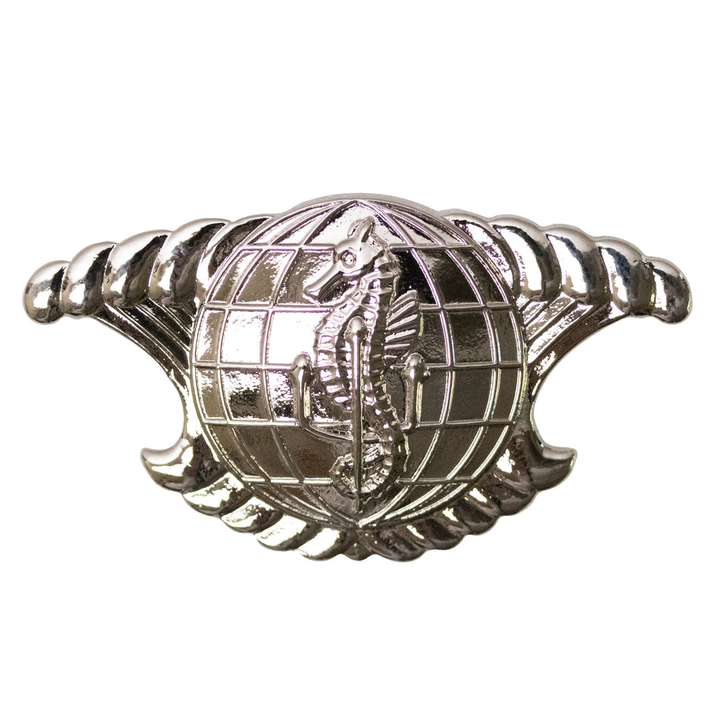 Navy Badge: Integrated Undersea's Surveillance System Enlisted - regulation mirror finish