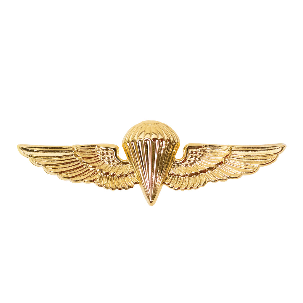 Badge: Parachutist - regulation, mirror finish