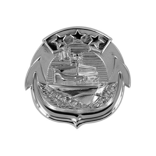 Navy Badge: Small Craft Enlisted - regulation size, mirror finish