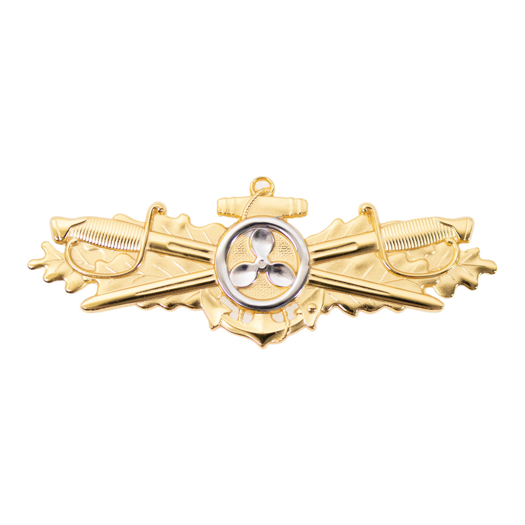 Navy Badge: Engineering Duty Officer - regulation size
