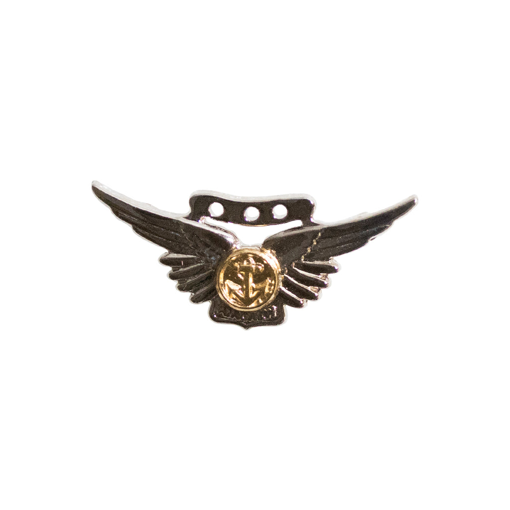 Badge: Combat Aircrew - miniature, mirror finish