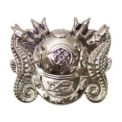 Navy Badge: Master Diver- miniature, mirror finish