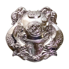 Badge: Diver First Class - miniature, mirror finish