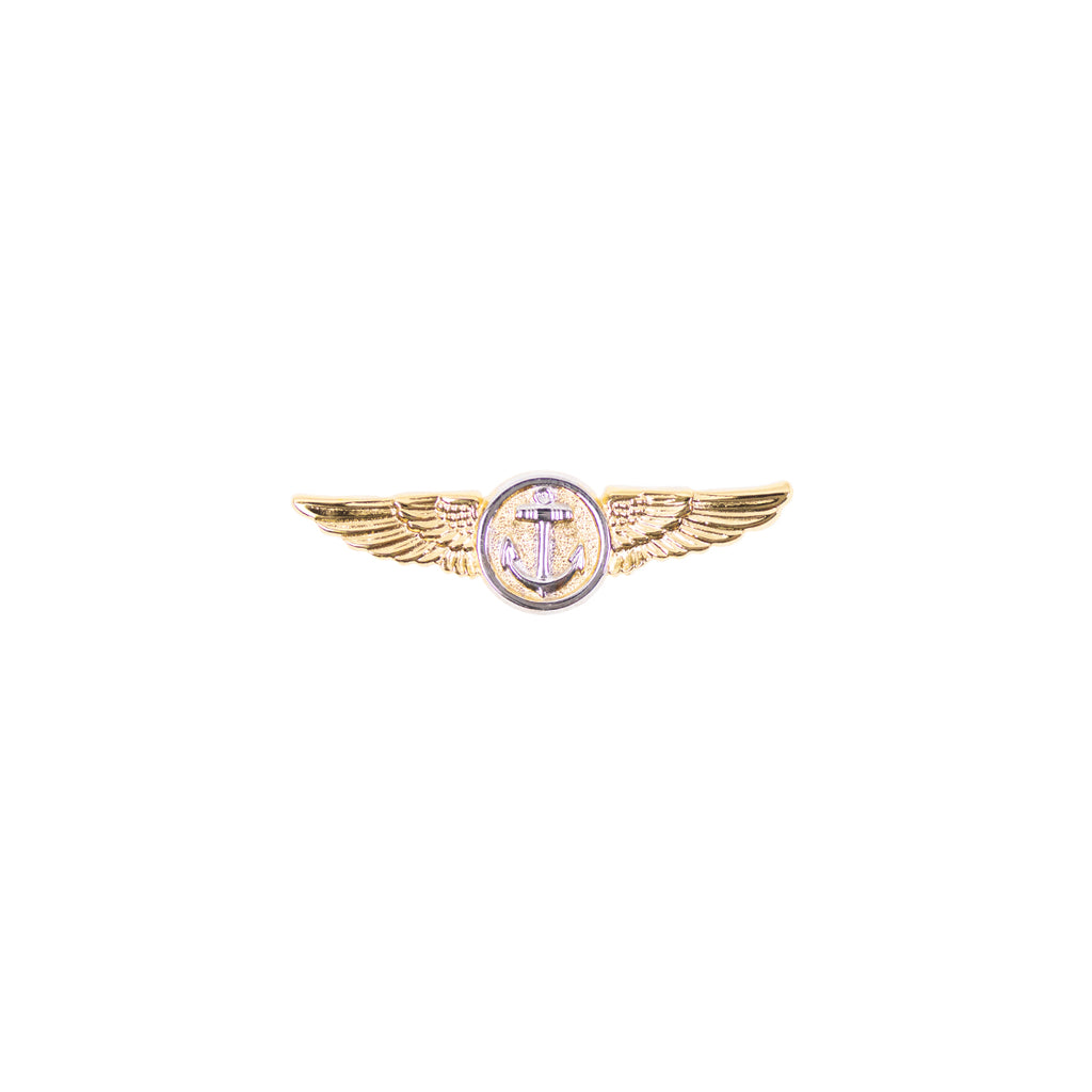 Navy Badge: Naval Aviation Observer Flight Meteorologist - miniature, mirror finish