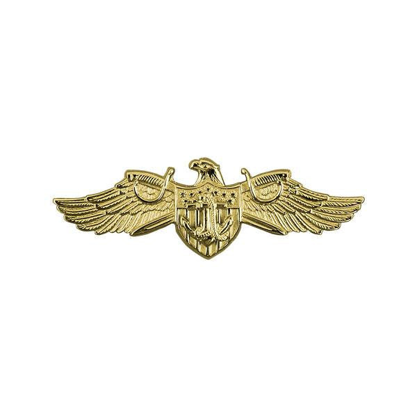 Navy Badge: Strategic Sealift Officer Warfare - miniature