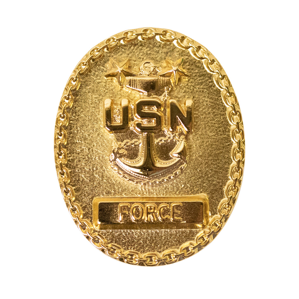 Navy Badge: Enlisted Advisor E-9 Force - miniature