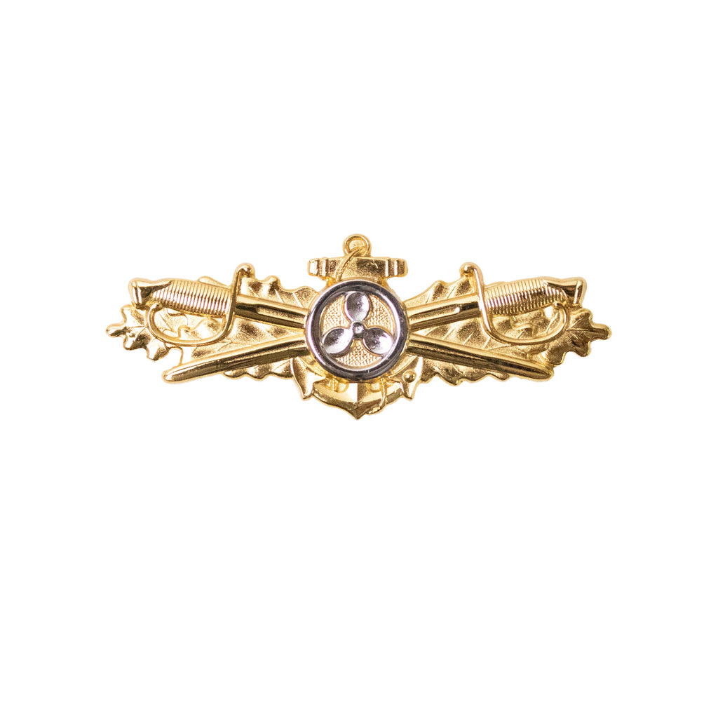 Navy Badge: Engineering Duty Officer - miniature size