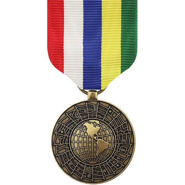 Full Size Medal: Inter American Defense Board