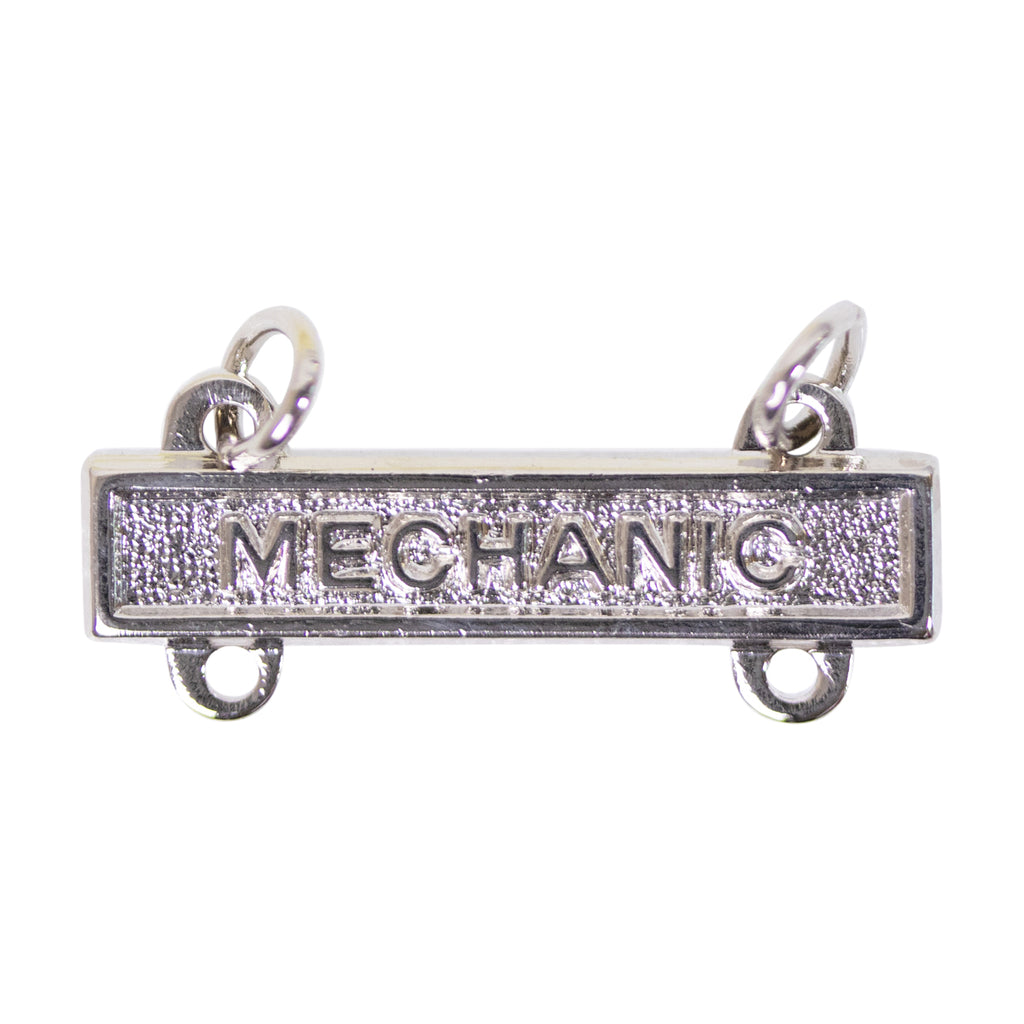 Army Qualification Bar: Mechanic - mirror finish