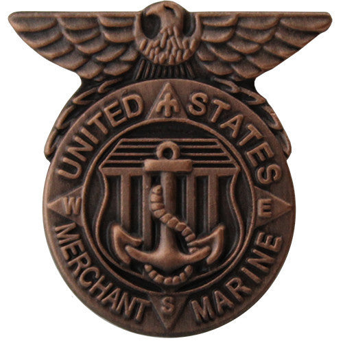 Lapel Pin: Merchant Marine Honorable Service