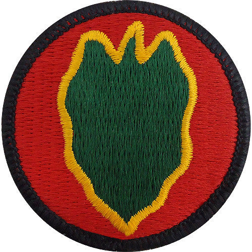 Army Patch: 24th Infantry Division - color