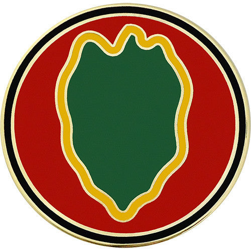 Army Combat Service Identification Badge (CSIB): 24th Infantry Division
