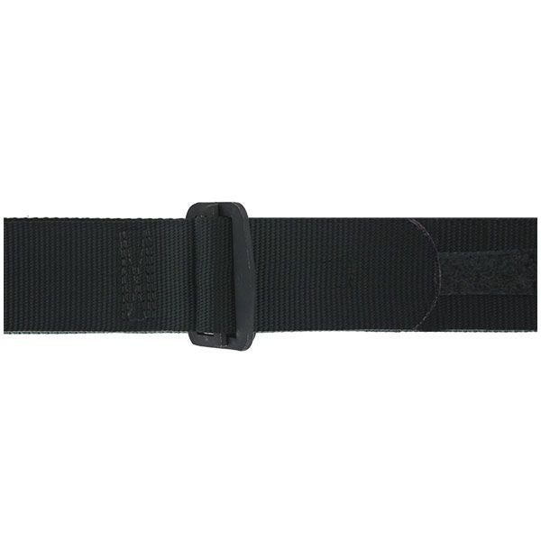 Rigger Belt: Black Nylon Rigger Belt with Buckle