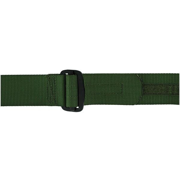 Rigger Belt: Green Nylon Rigger Belt with Buckle