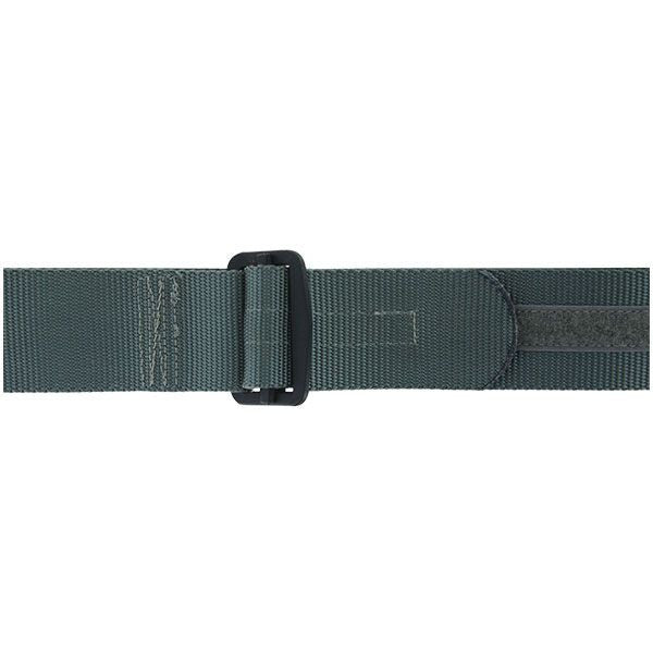 Rigger Belt: Gray Nylon Rigger Belt with Buckle