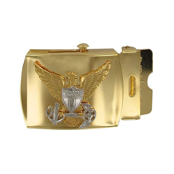 Coast Guard Belt Buckle: Officer - male