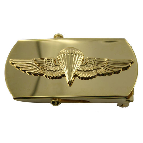 Navy Belt Buckle: Parachutist Officer