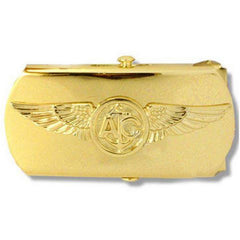 Navy Belt Buckle: Air Crew Chief Petty Officer - gold