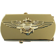 Navy Belt Buckle: Aviator