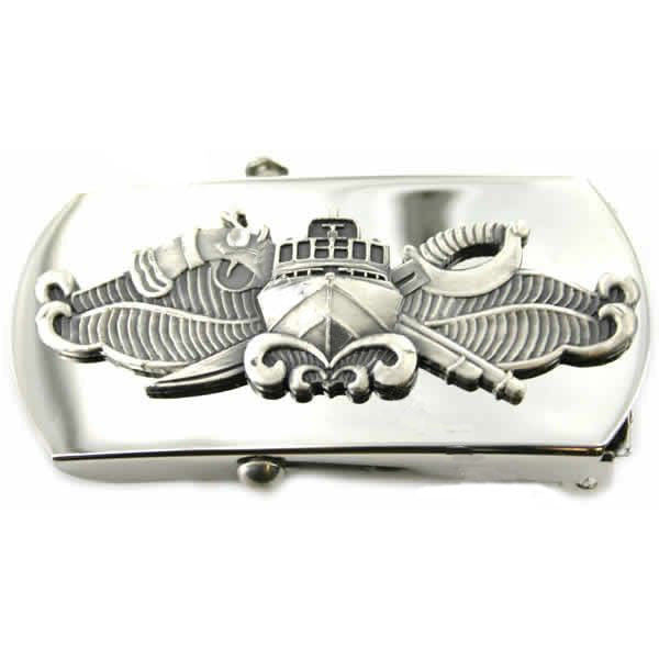 Navy Belt Buckle: Special Warfare Combatant Craft Crewman