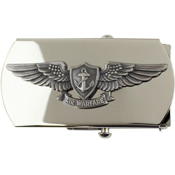 Navy Belt Buckle: Aviation Warfare Enlisted