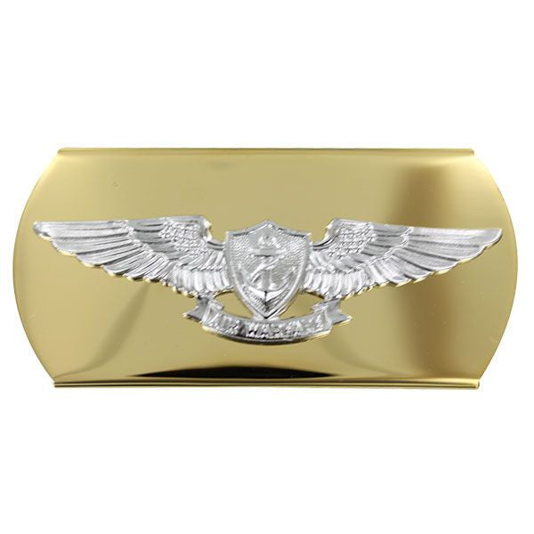 Navy Belt Buckle: Aviation Warfare Chief Petty Officer