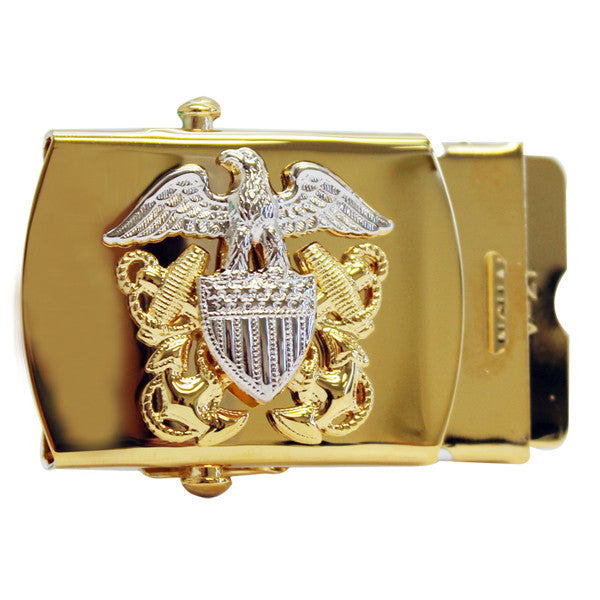 Navy Belt Buckle: Officer