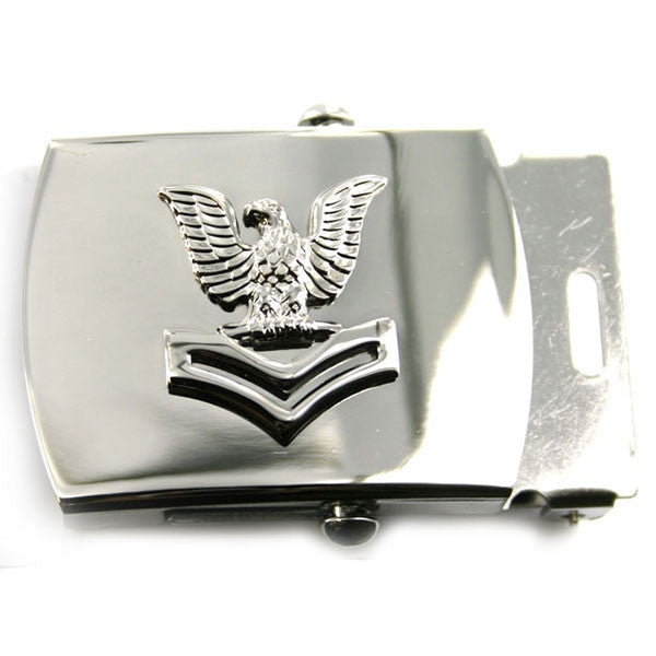 Navy Belt Buckle: E5 Petty Officer Second Class