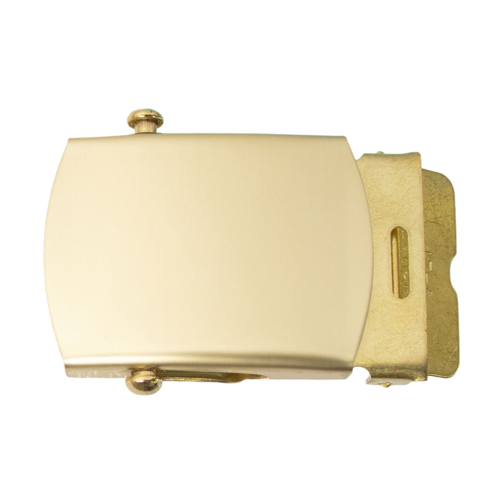 Belt Buckle: Brass - male