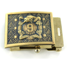 Army Belt Buckle: 9th Infantry