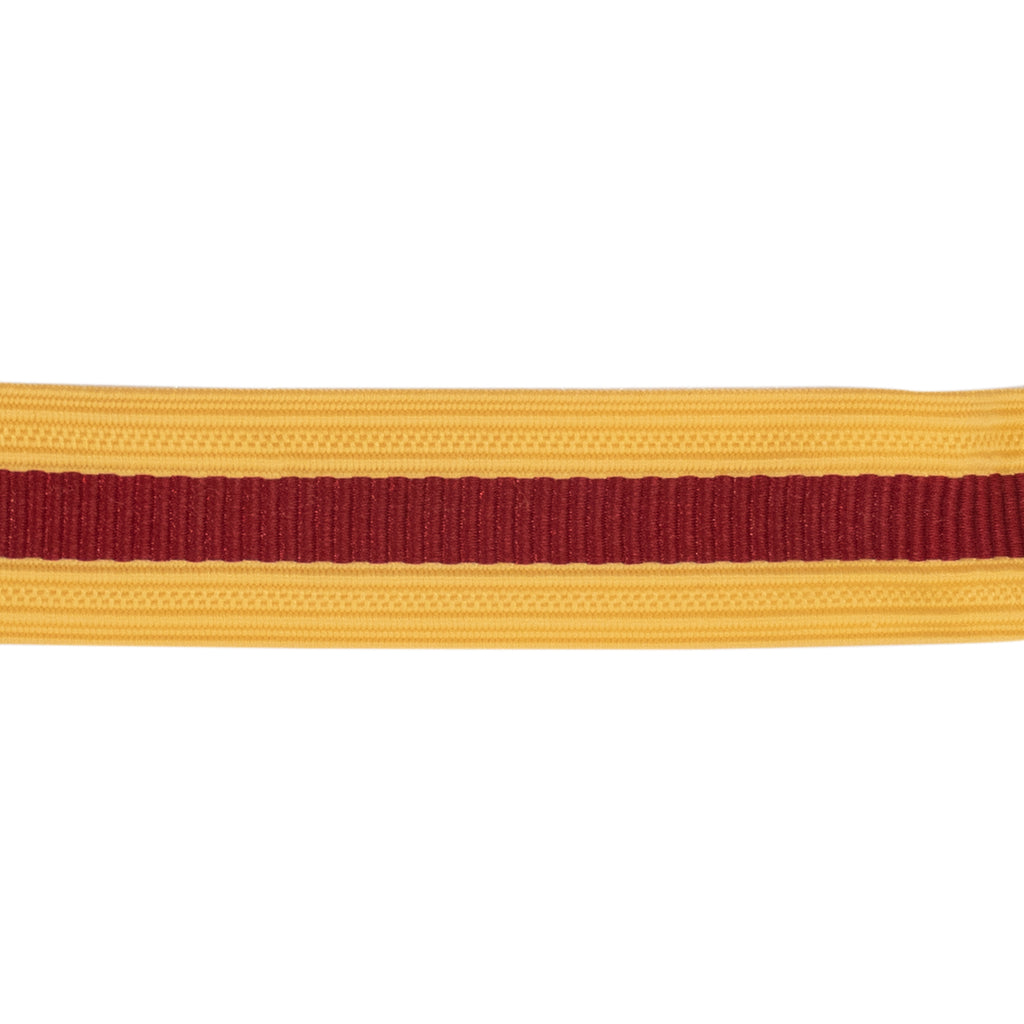 Army Sleeve Braid: Logistics - red and gold