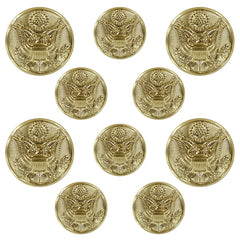 Army Button Set: Eagle 4x36 ligne and 6x25 ligne